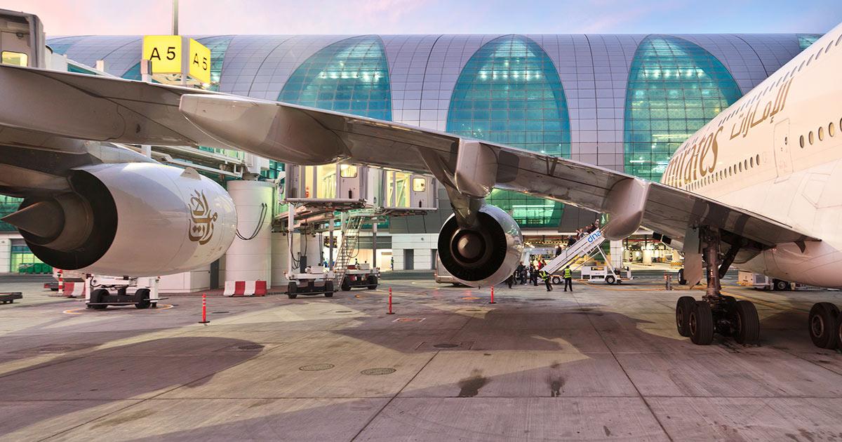 Dubai flygplats terminal