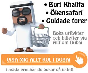 Boka sevärdheter i Dubai