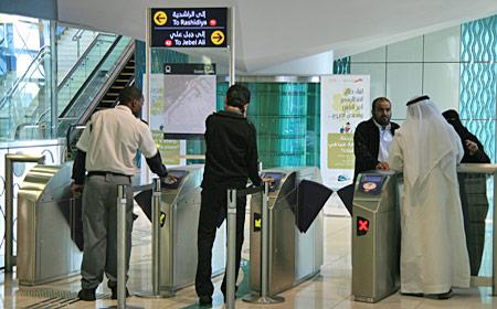 Dubais tunnelbana växer – nu öppnar gröna linjen