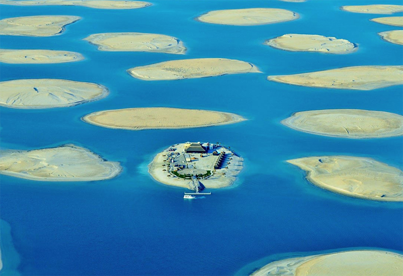 Första ön i The World tar emot besökare