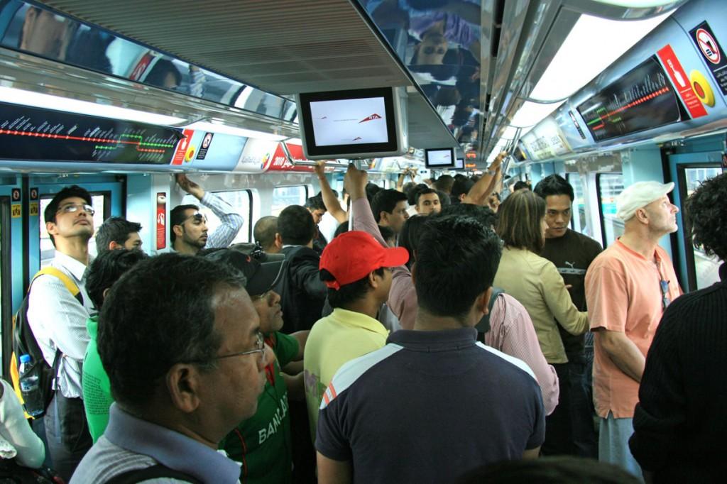 Dubai Metro Cabin (Foto: Göran Ingman)