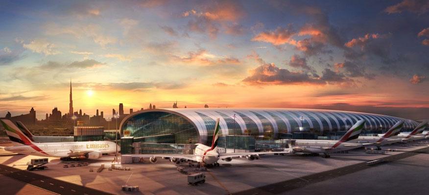 Superjumbon får egen flygplatsterminal i Dubai