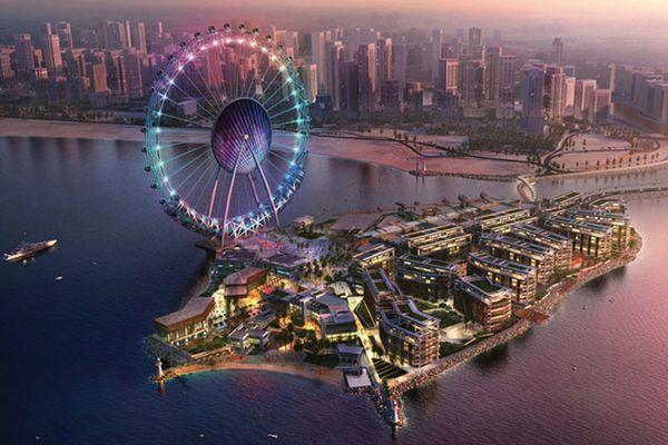 Dubai Eye blir världens högsta pariserhjul