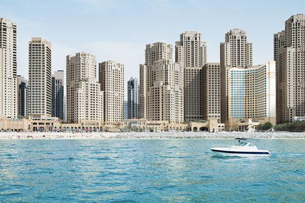 Ocean View Hotel Dubai exterior