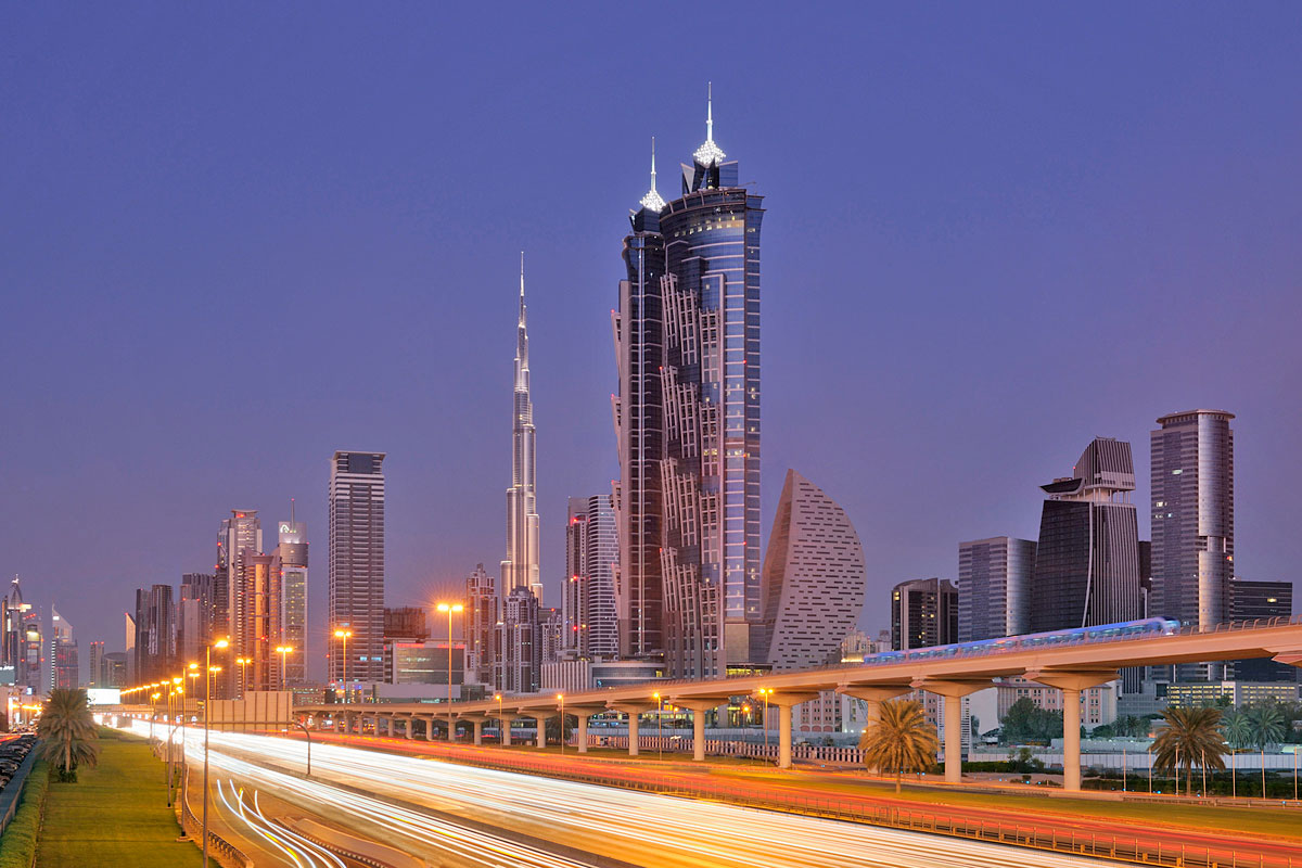 Världens högsta hotell har öppnat