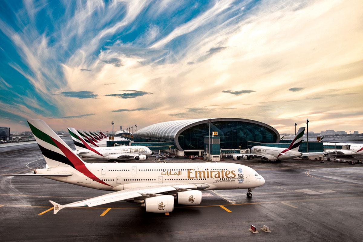Dubai bygger världens största flygplats