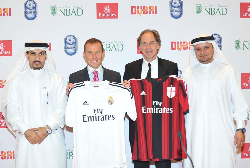 Real Madrid och AC Milan möts i Dubai