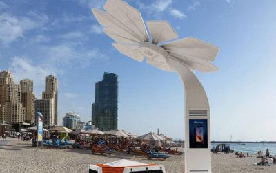 Dubais stränder får gratis wifi