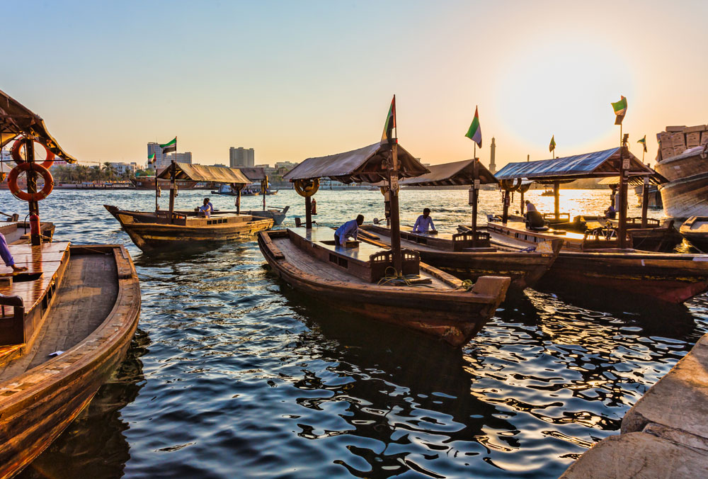 Abra på Dubai Creek (Dollarphotoclub/Oleg Zhukov)