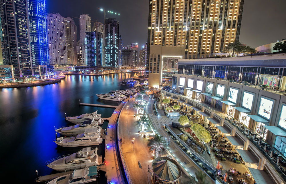 Dubai Marina Dinner Cruise (Foto: Flickr/mattharvey1)