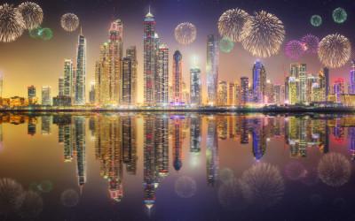 Dubai trendigast för nyårsfirande