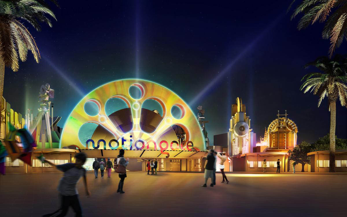 Nöjespark Dubai Motiongate