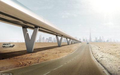Hyperloop – Dubai till Abu Dhabi på 12 minuter