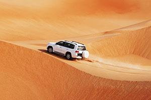 Desert Safari - ökensafari - i Dubai