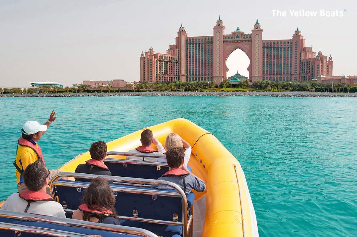 RIB-båt Dubai