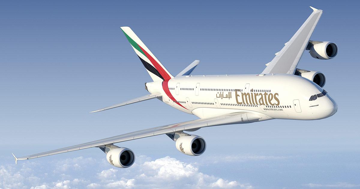 Emirates är världens bästa flygbolag 2017