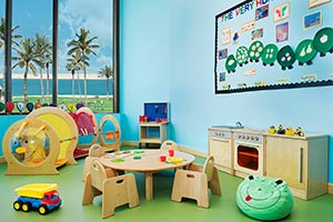 JA Jebel Ali Beach Hotel Kids Room