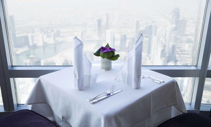 Frukost i Burj Khalifa