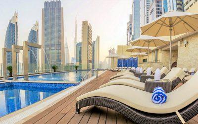 Världens högsta hotell öppnar i Dubai – igen