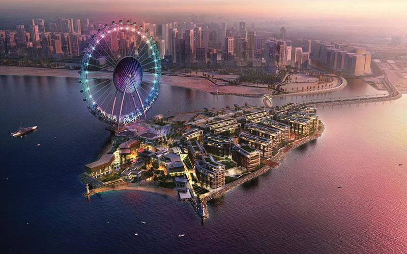Ain Dubai - världens största pariserhjul