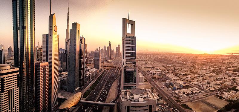 Resa till Dubai på sommaren
