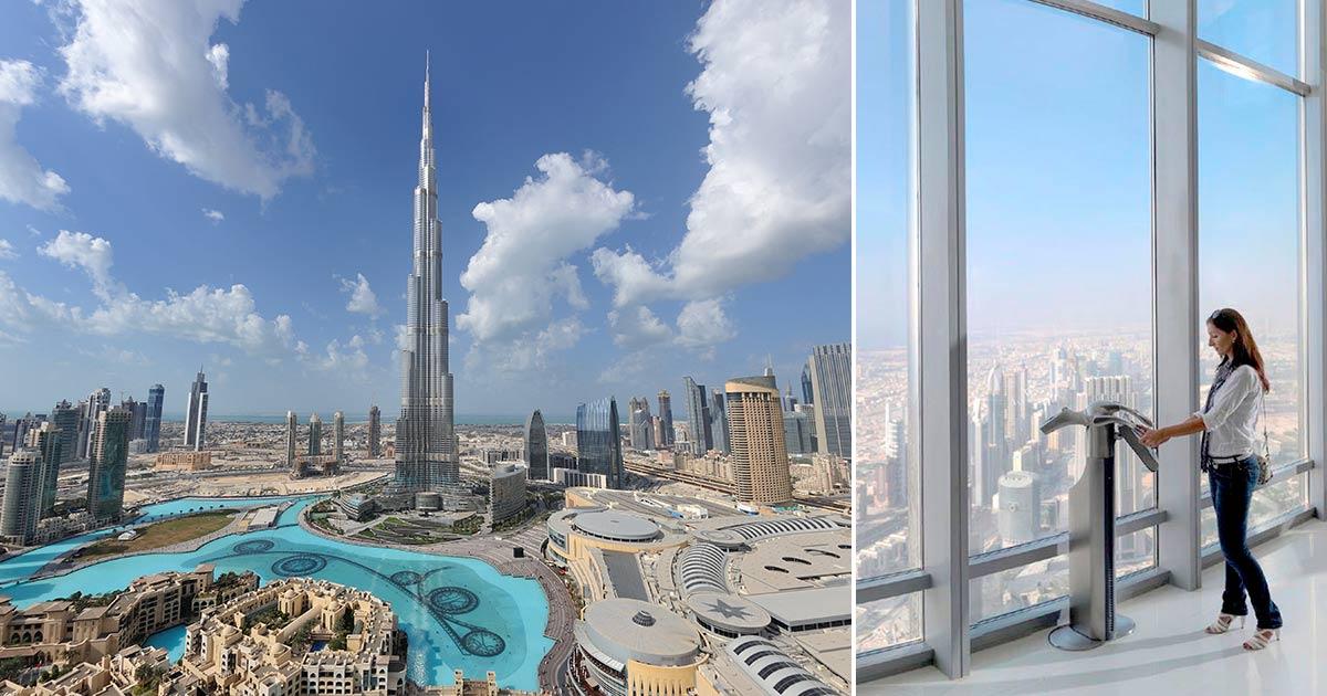 Burj Khalifa - världens högsta skyskrapa