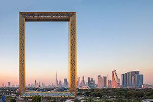 Dubai Frame - nyhet 2018