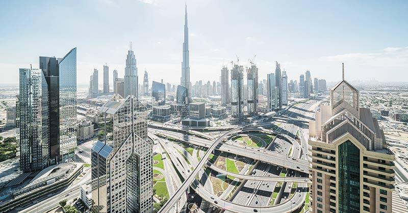 Hyra bil i Dubai