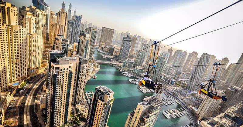 Zipline Dubai Marina