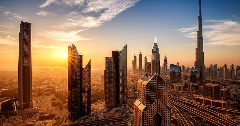 Dubai - världens näst säkraste resmål